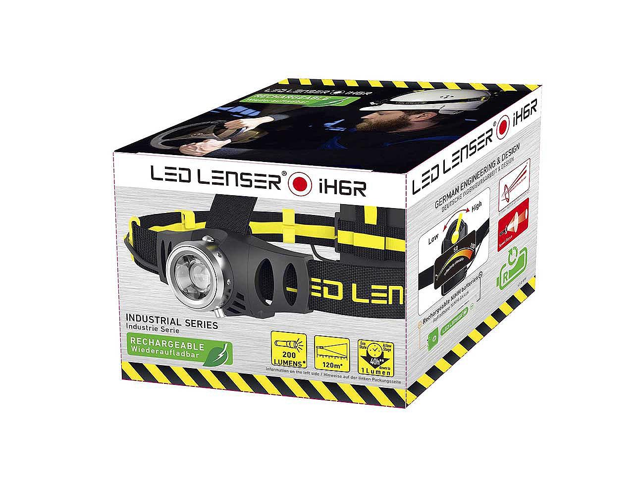 Led Lenser taaslaetav pealamp iH6R