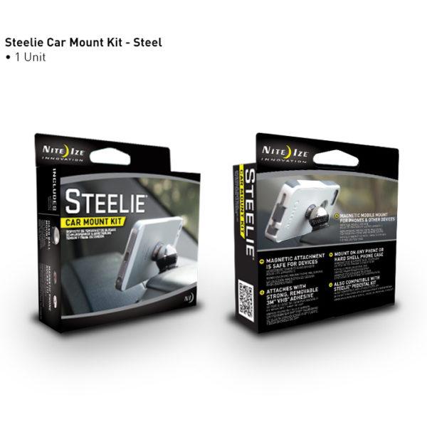 NiteIze Steelie Car Mount Kit telefonihoidja