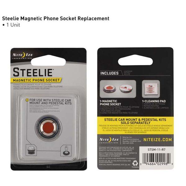 NiteIze Steelie Magnetic Phone Socket