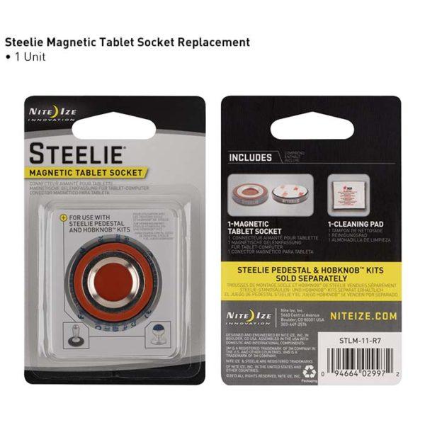 NiteIze Steelie Magnetic Tablet Socket