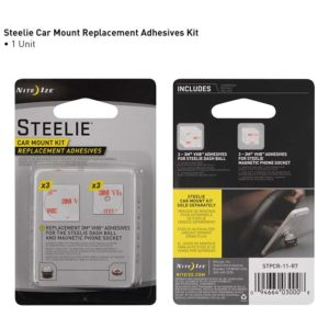 NiteIze Steelie Car Mount Kit Adhesive