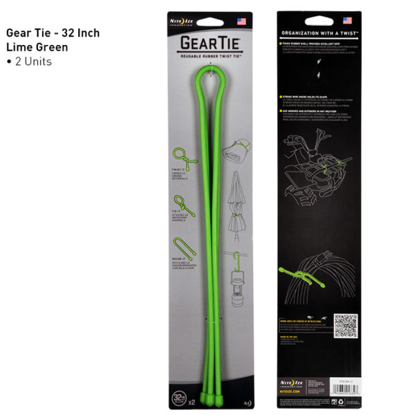"""NiteIze Gear Tie 32""""(81,28cm) kinnitusvahend"""