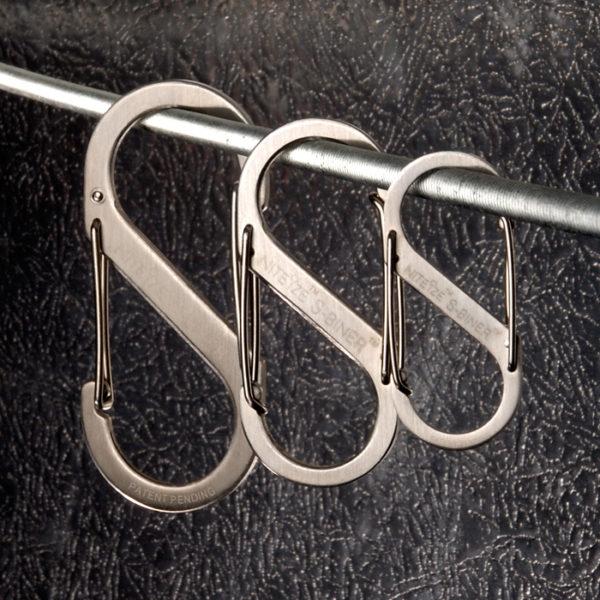 NiteIze S-Biner #2, #3, #4 karabiinide komplekt