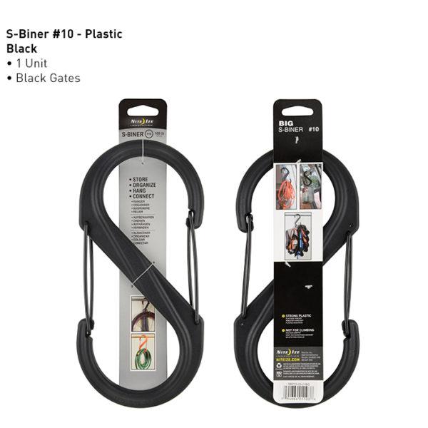 NiteIze S-Biner #10 plastikust karabiin