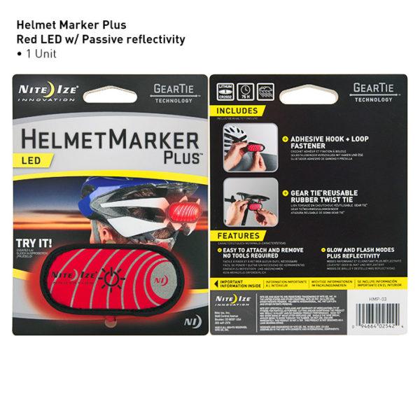 NiteIze Helmet Marker Plus LED helkur