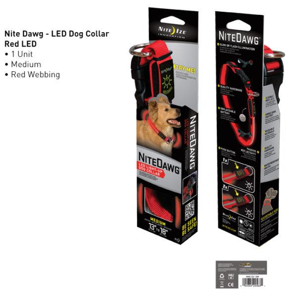 NiteIze Nite Dawg LED Light-Up kaelarihm