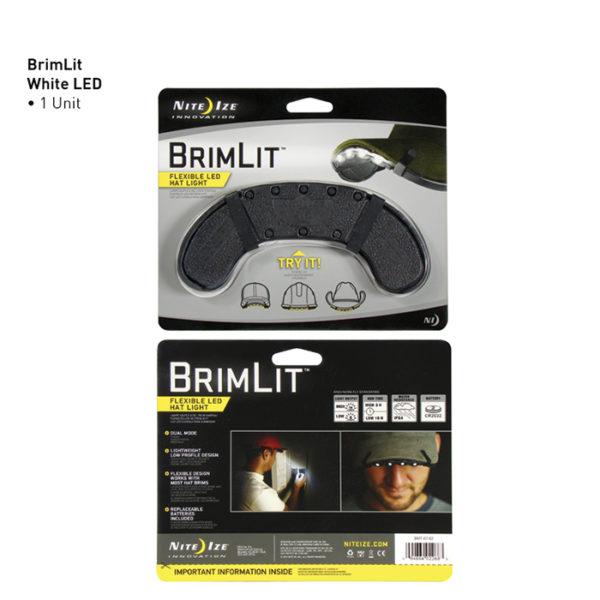NiteIze BrimLit käed vaba valgustus