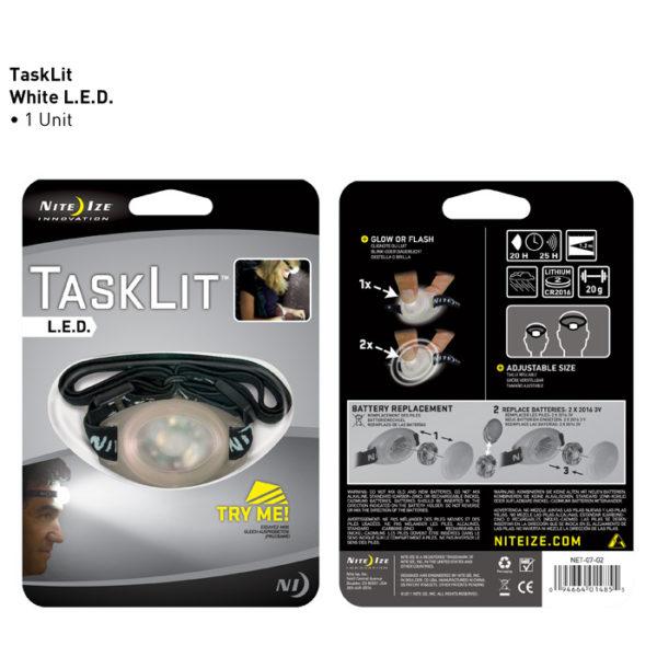 NiteIze TaskLit pealamp