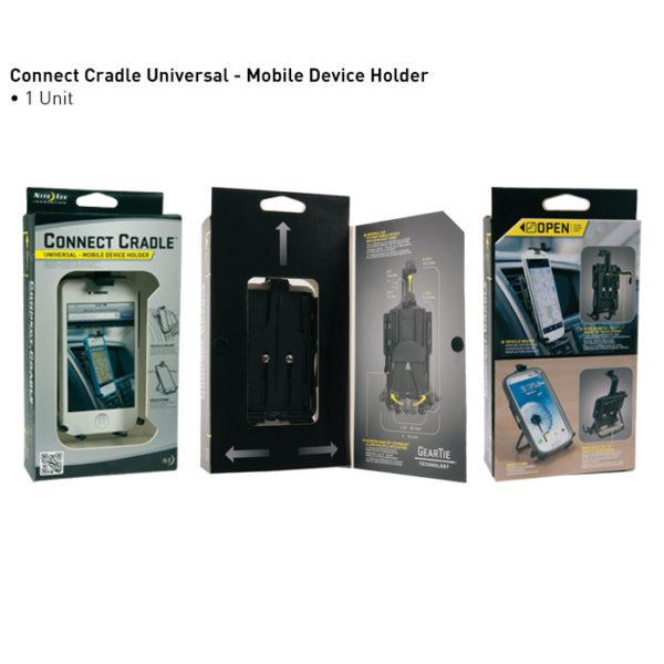 NiteIze Universal Connect Cradle mobiilihoidik