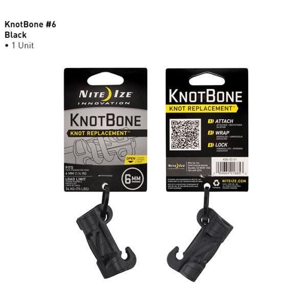 NiteIze Knot Bone #6