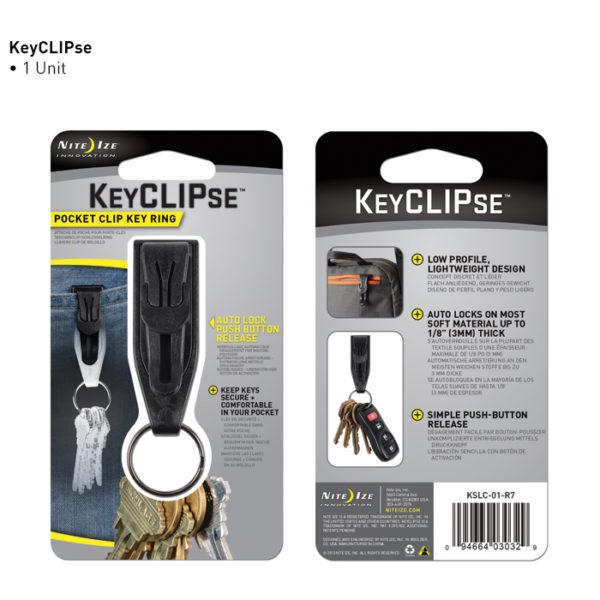 Niteize KeyClips võtmehoidja