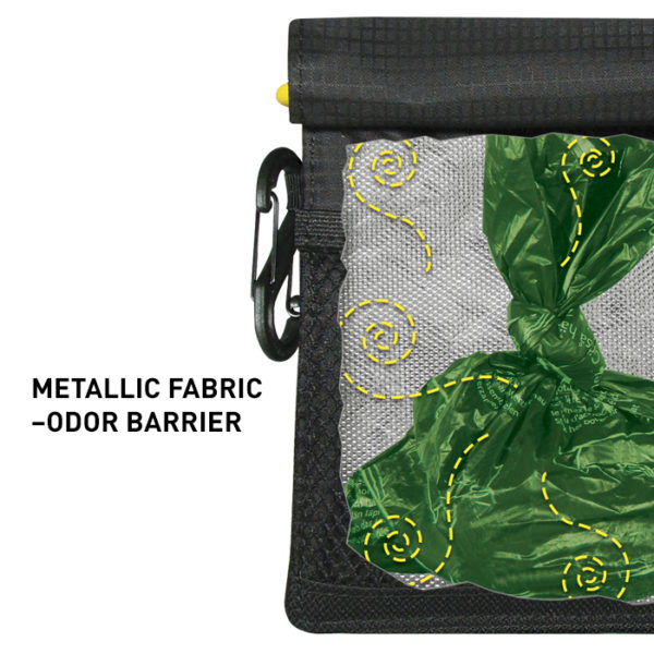 Nailonist kott NiteIze Pack-A-Poo koera väljaheite kilekottide jaoks