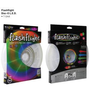 NiteIze FlashFlight Disc lendav taldrik