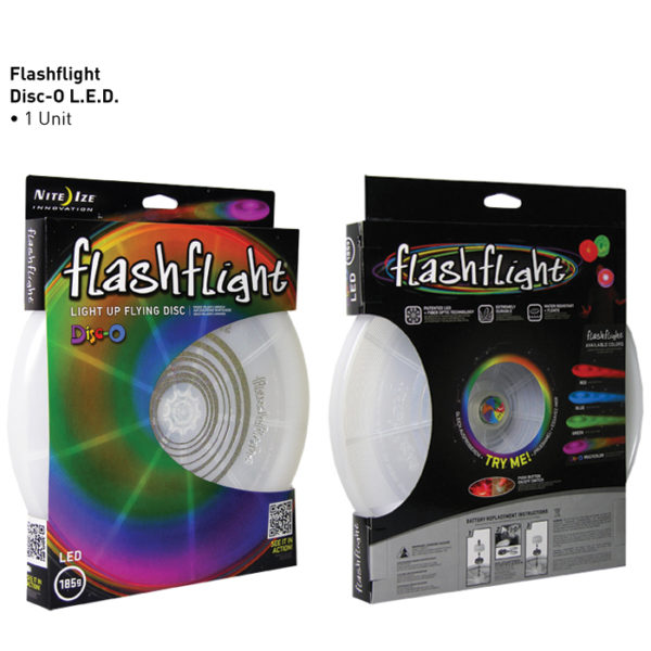 NiteIze FlashFlight Disc lendav taldrik