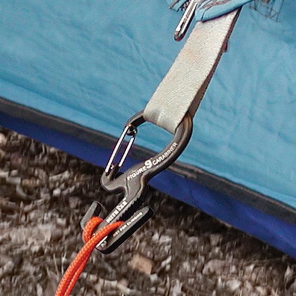NiteIze Figure 9 karabiiniga kinnitusklamber väike