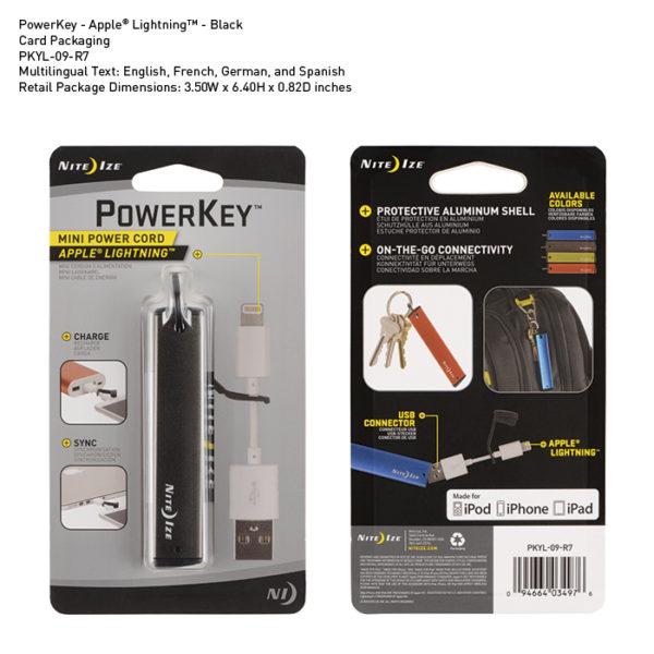 NiteIze PowerKey Apple® Lightning