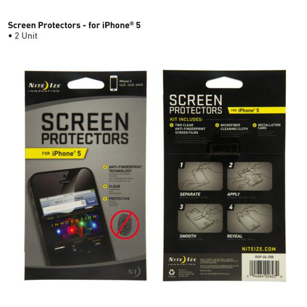 NiteIze iP5/5S Screenprotectors