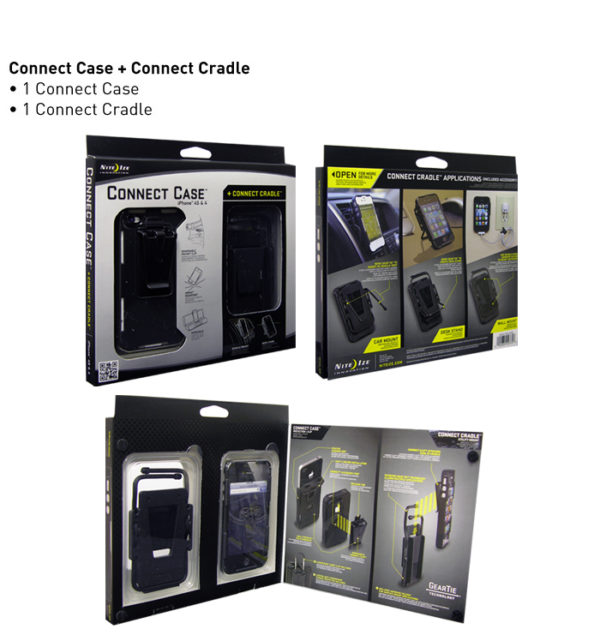 NiteIze ConnectCase Mobile Mount iP4/4S