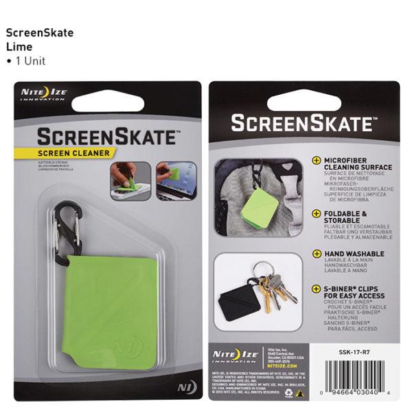 NiteIze ScreenSkate ekraani puhastuslapp