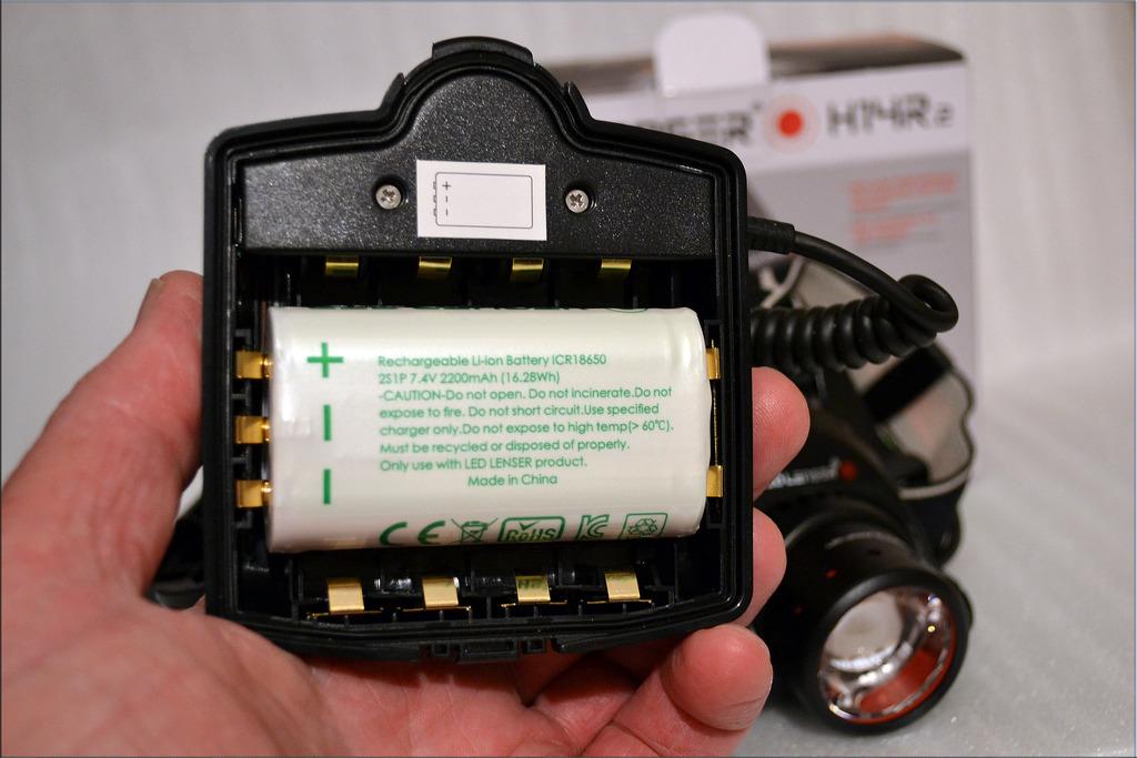 Led Lenser H14R.2 aku